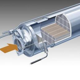 servizi-saragoni-marmitte-srl-rigenerazione-filtro-antiparticolato-intasato